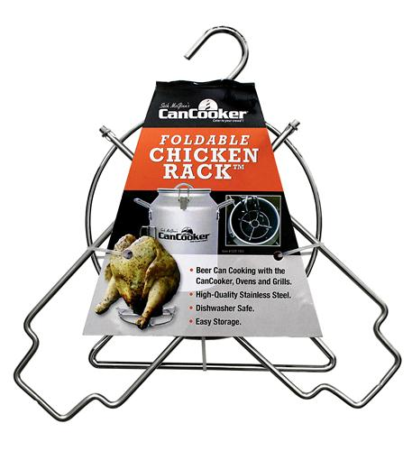 CanCooker Foldable Chicken Rack