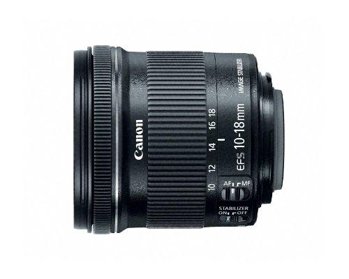 EF S10 18 IS STM Lens