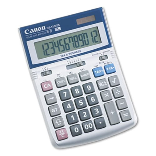 CANON 7438A023 HS1200TS 12-Digit Calculator