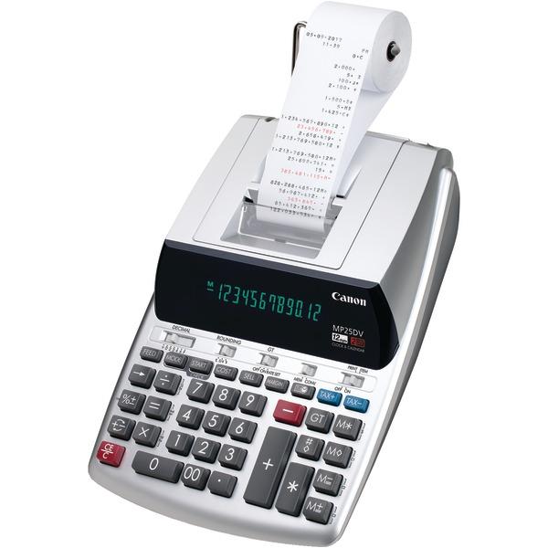 Canon 2202C001 MP25DV-3 Printing Calculator