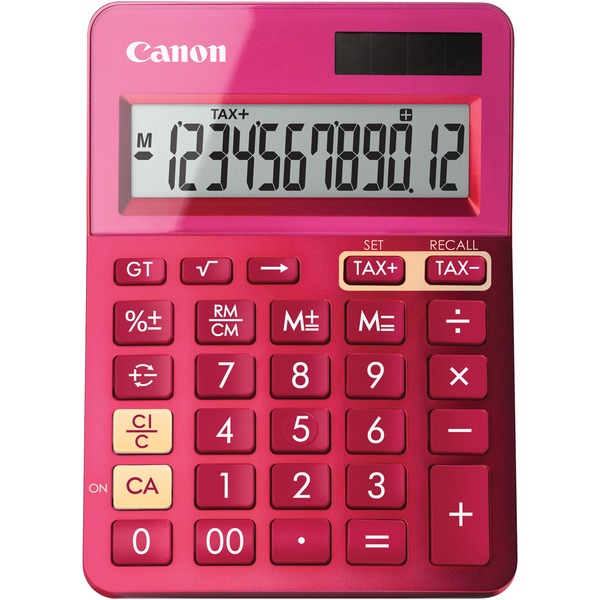 Canon 9490B018 LS-123K Calculator (Metallic Pink)