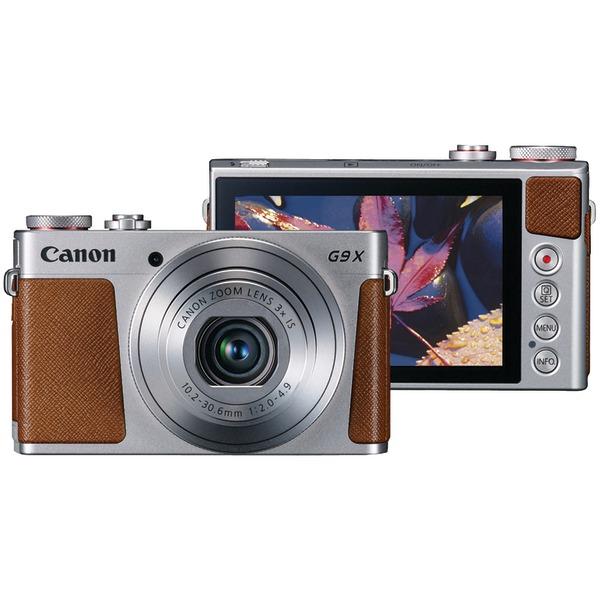 Canon 0924C001 20.0-Megapixel PowerShot G9X Digital Camera (Silver)