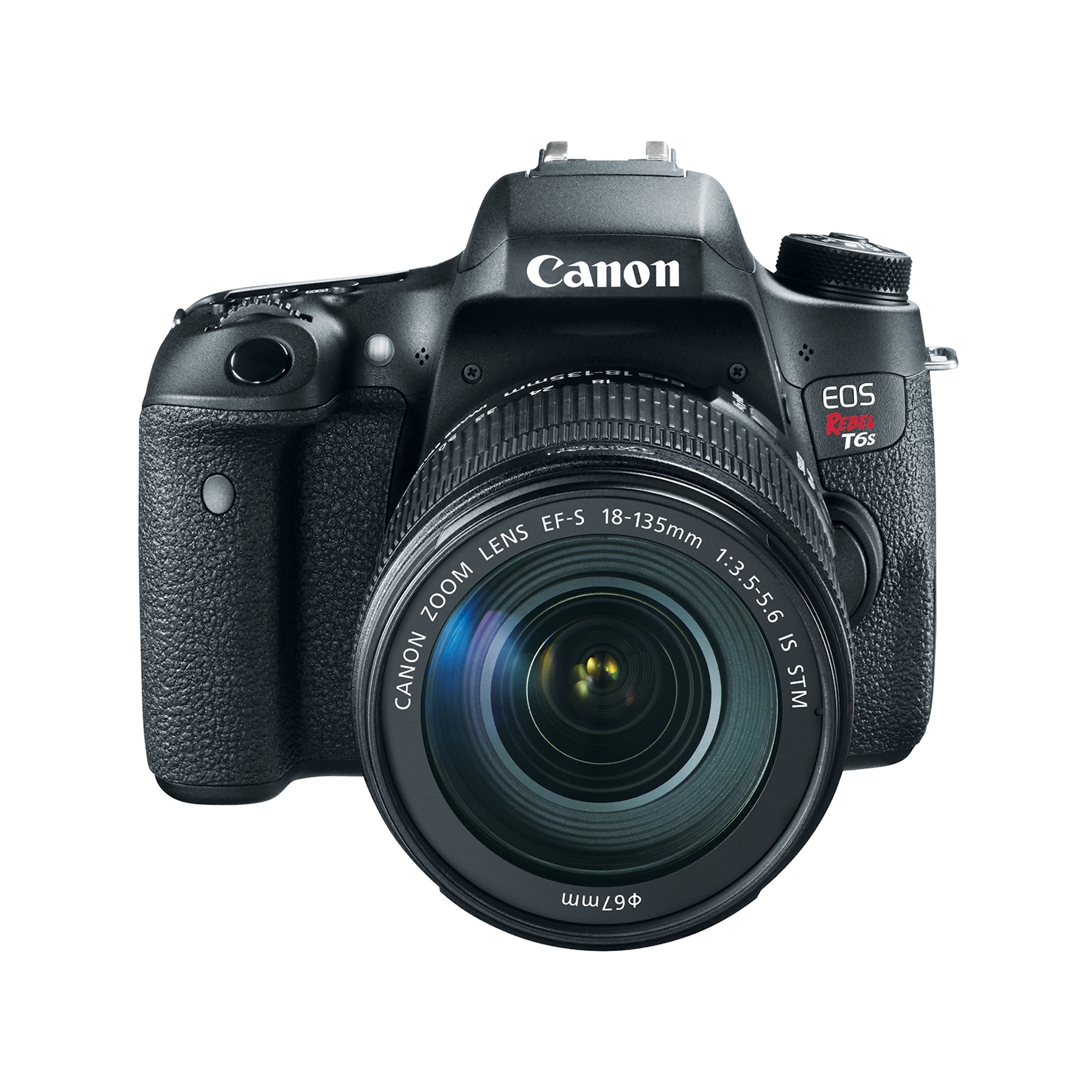 Canon EOS Rebel T6s 24.2 Megapixel Digital SLR with EF-S 18-135mm IS STM Lens Kit