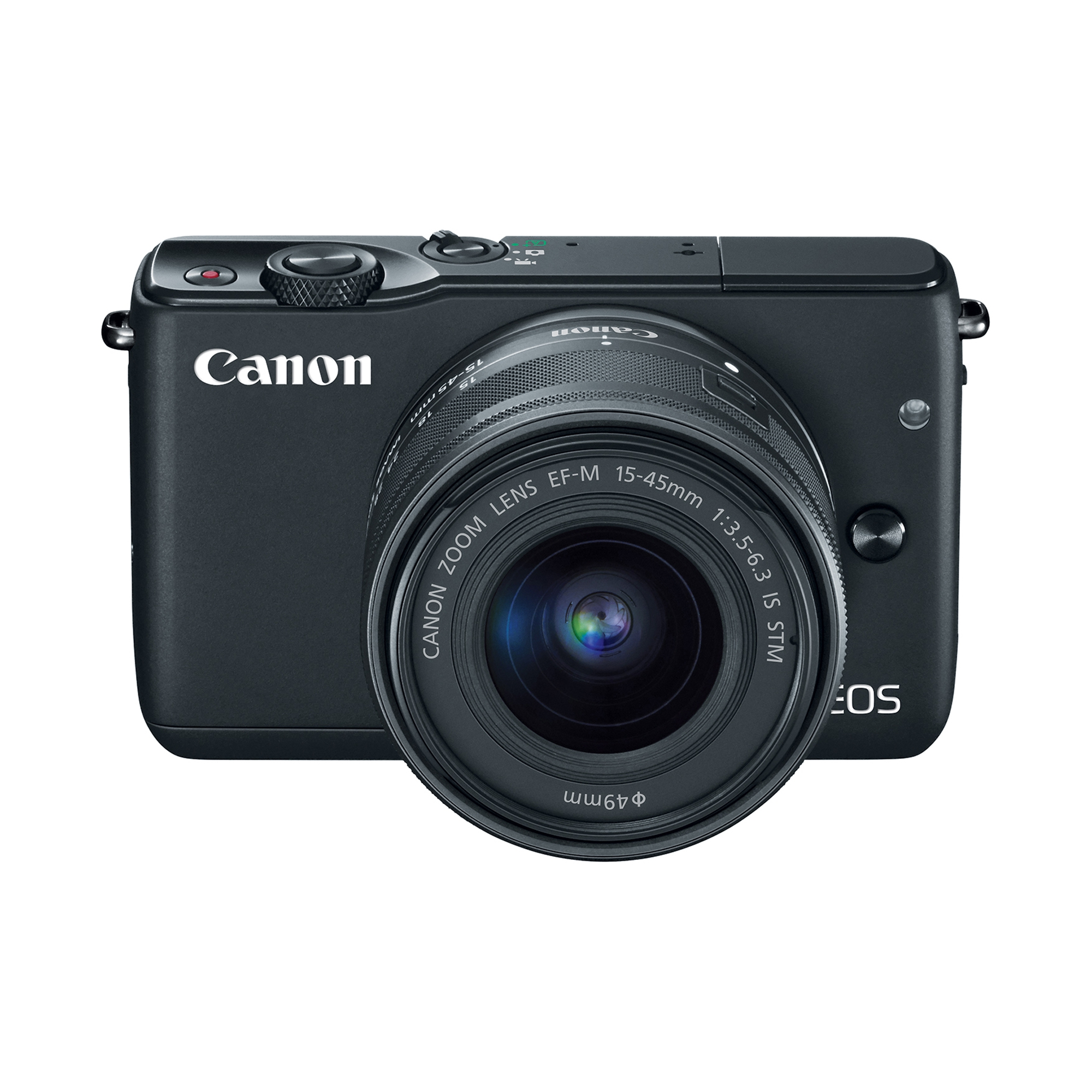 Canon EOS M10 18.0 Megapixel with EF-M 15-45mm IS STM Kit Black