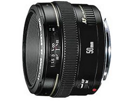 Canon EF 50mm f/1.4 USM Lens