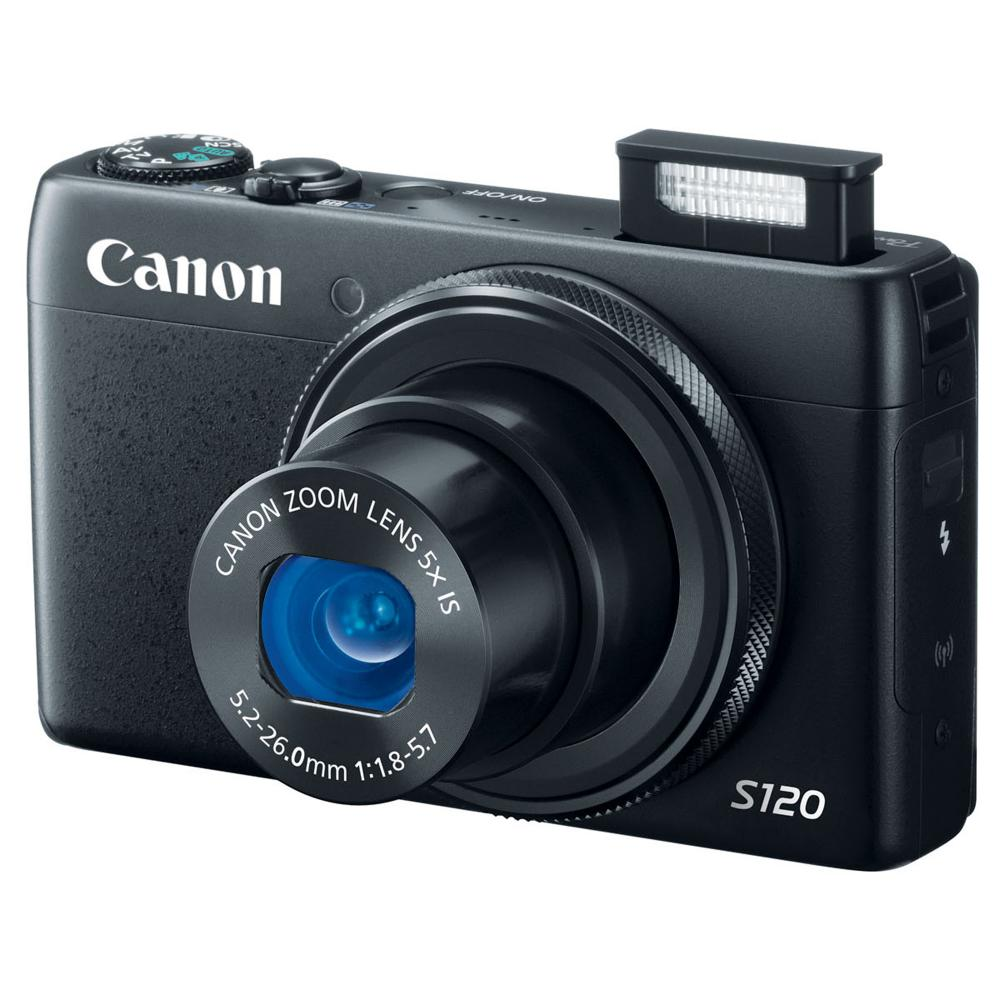 Canon PowerShot S120 12.1 Megapixel Digital Camera with 5x Zoom and 3.0-IN LCD