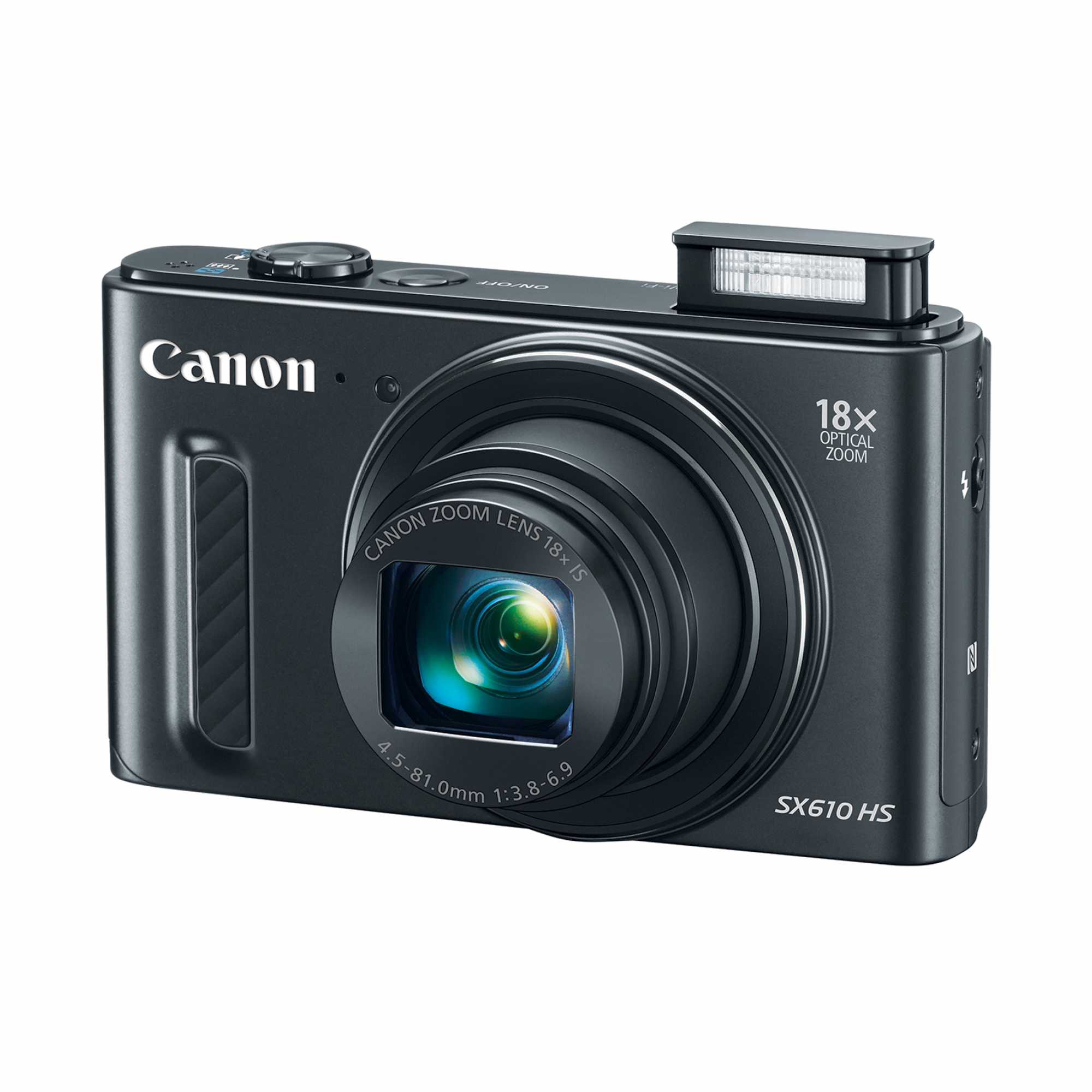 Canon PowerShot SX610 HS 20.2MP Digital Camera with 18x Optical Zoom and 3.0-inch LCD