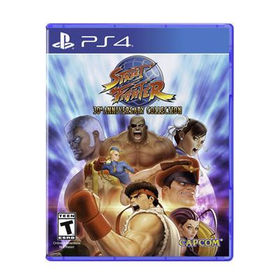 Street Fighter 30th Anniv PS4