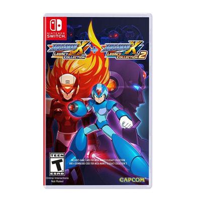 Mega Man X Legacy 1 and 2 NSW