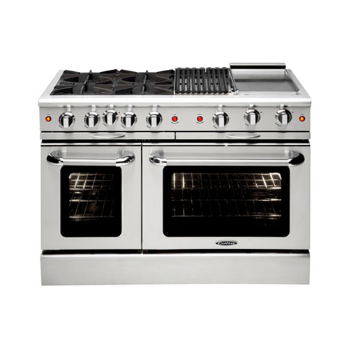 "Capital 48"" Gas-Convec 6 Burner Range NG"