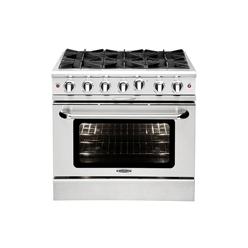 "Capital 36"" Gas Self Cleaning Range"