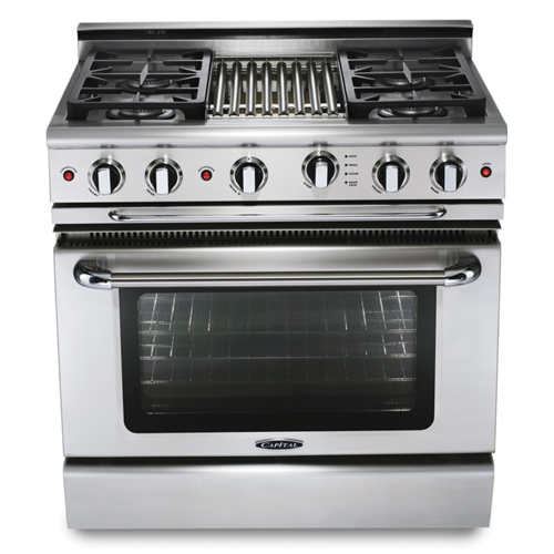 "Capital 36"" Gas-Conv 4 Burner Ranger NG"