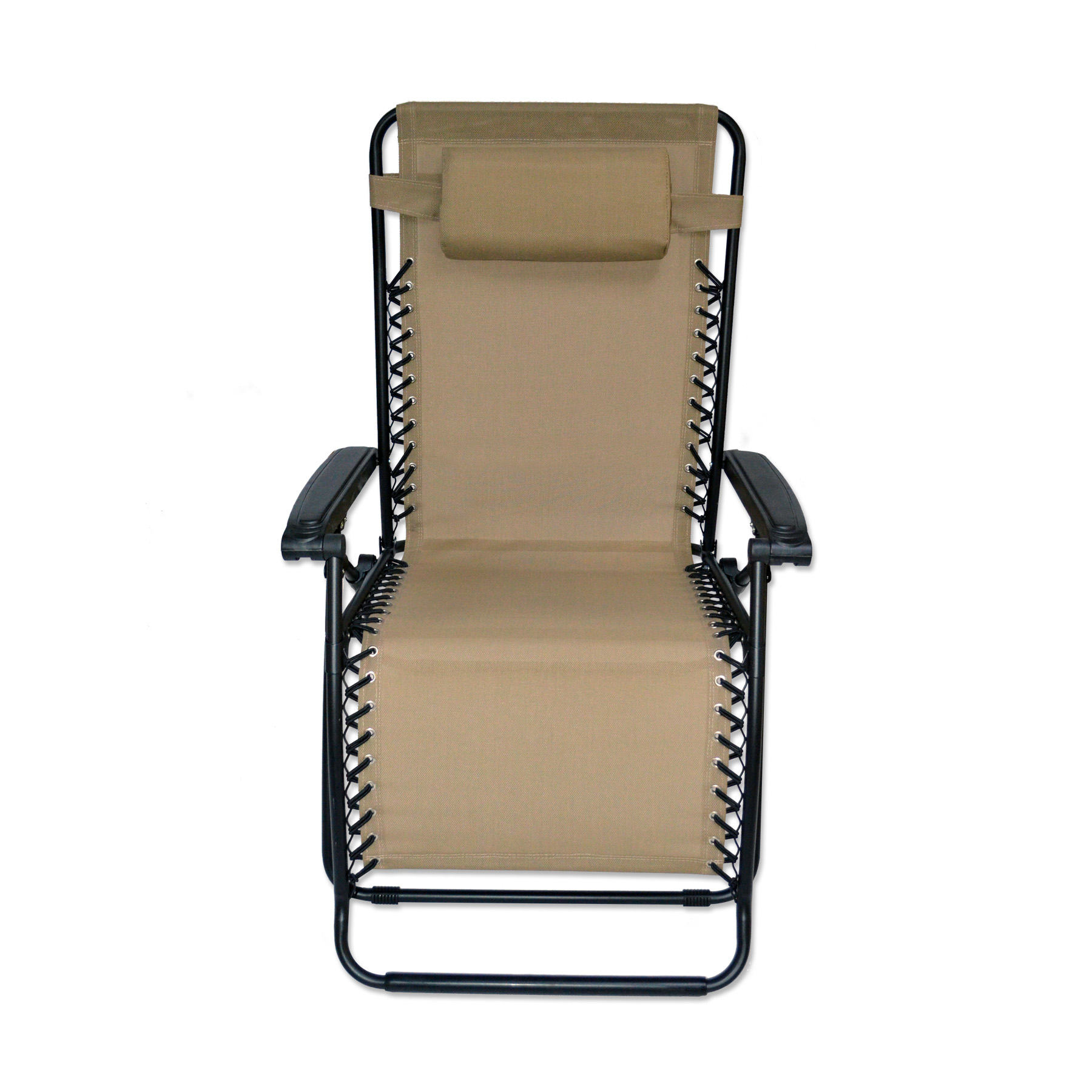 Oversized Infinity Zero Gravity Chair  Beige