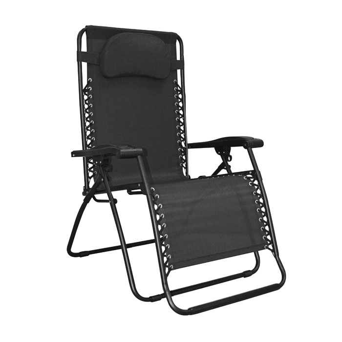 Oversized Infinity Zero Gravity Chair Black