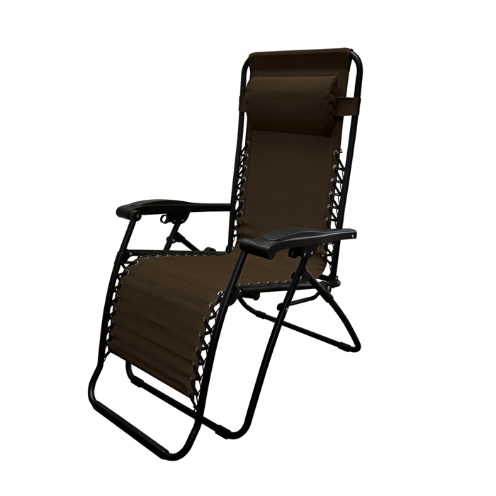 Oversized Infinity Zero Gravity Chair Dark Brown