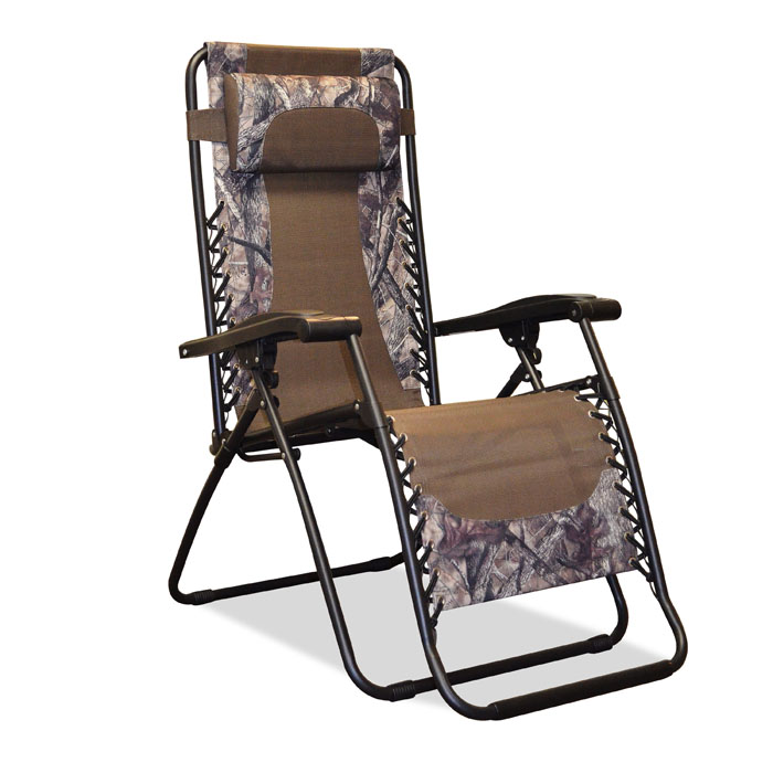 Only infinity zero gravity chair camo 689215381557 for Camo chaise lounge