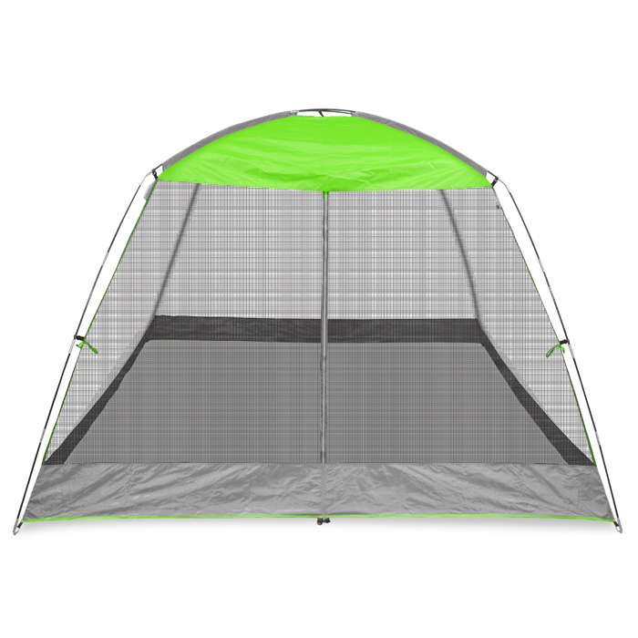 10x10 Screen House Shelter Lime Green
