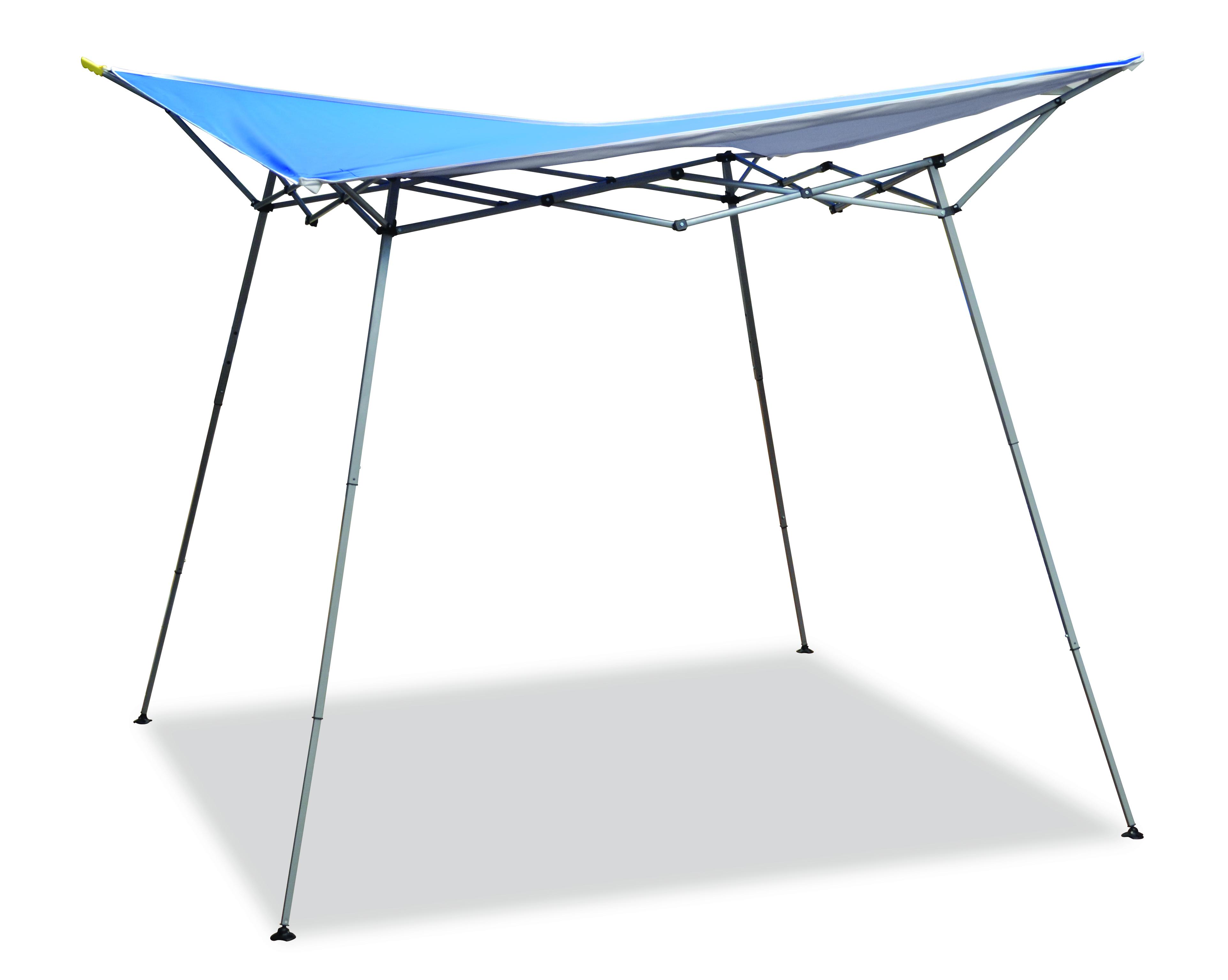 8'x8' Evo shade Blue(White Frame)