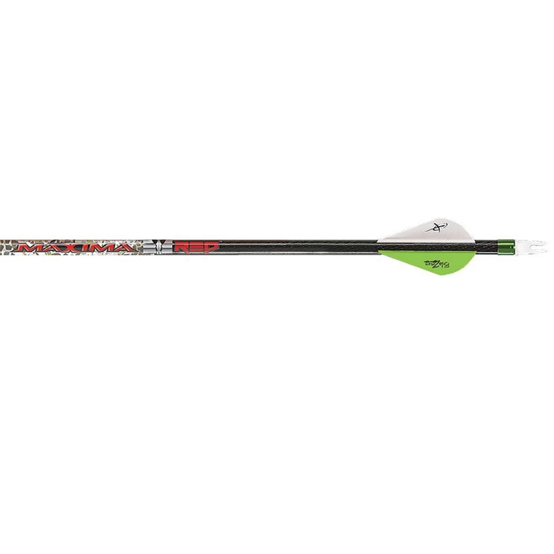 Carbon Express Maxima RED Badlands 250 Arrows 6Pk