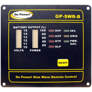 REMOTE FOR THE 24V GP-SW1000, 2000, & 3000
