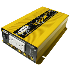 INVERTER 600 WATT PURE SINE WAVE 24V