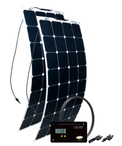 200 Watt/11.24 Amp Solar Kit With Gp-Pwm-30 Digital Controller
