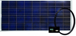 Solar Kit 160 Watt / 9.1 Amp With Digital Controller