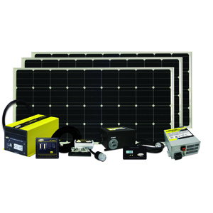 Solar Kit 480 Watts, 27 Amps