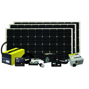 Solar Kit 480 Watts, 27 Amps