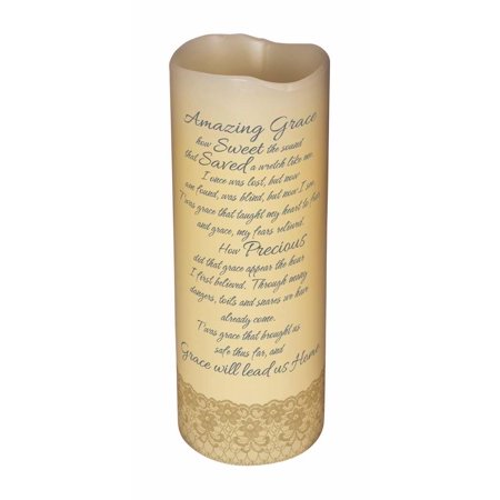 Amazing Grace Scented Flameless Candle