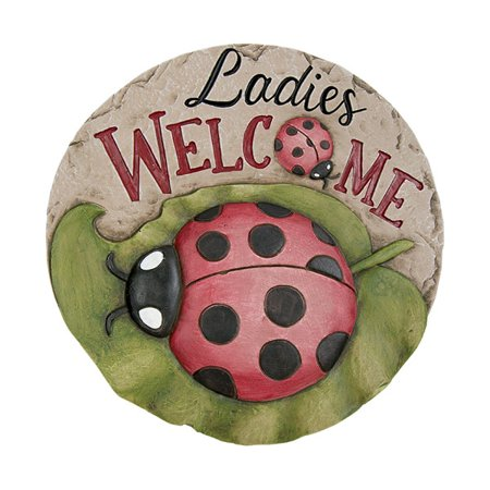 Decor Stepping Stone Ladies Welcome