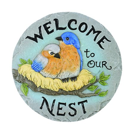 Decor Stepping Stone Welcome to Nest