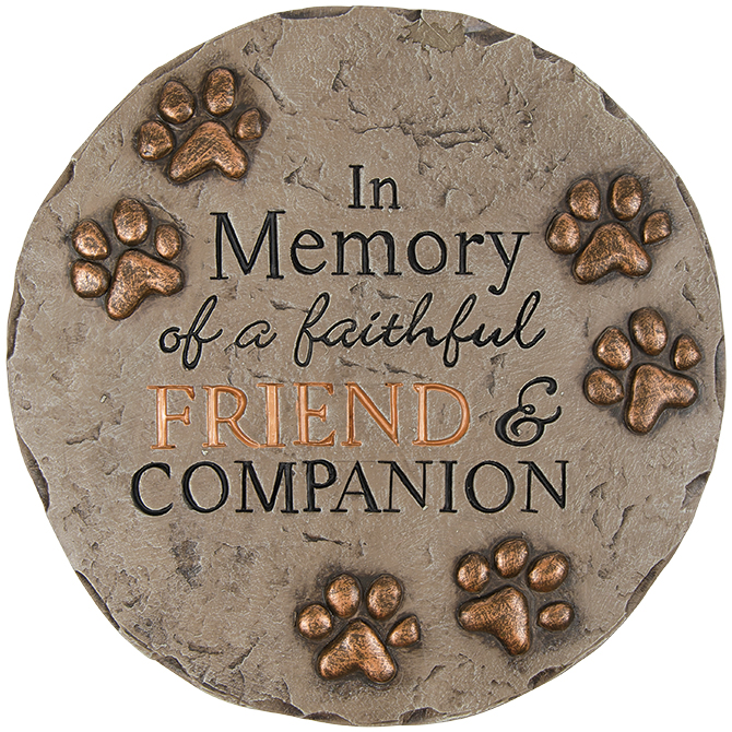 Decor Stepping Stone Friend and Companion