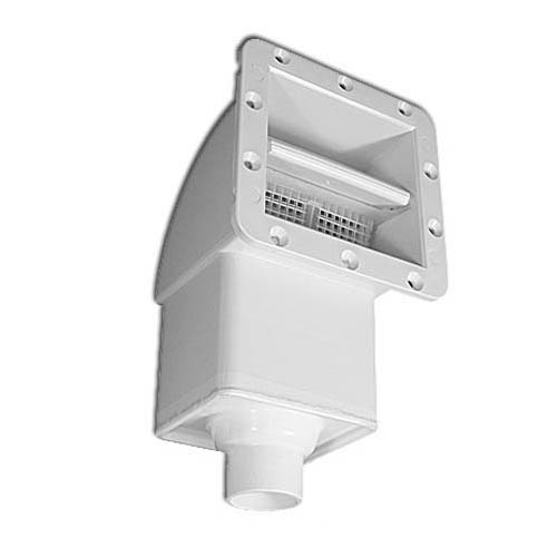 """Filter Skimmer Assy,JACUZZI,SV Front Access(Complete)White   1-1/2""""Plumbing"""