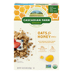 Organic Granola Cereal - Oats And Honey ( 6 - 16 OZ )
