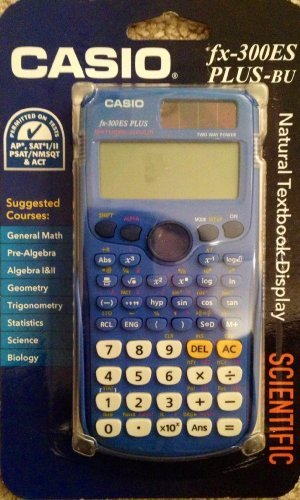 Scientific Calculator Blue