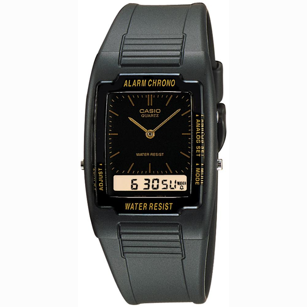 Casio AQ47-1E Analog/Digital Dual Time Water Resistant Watch