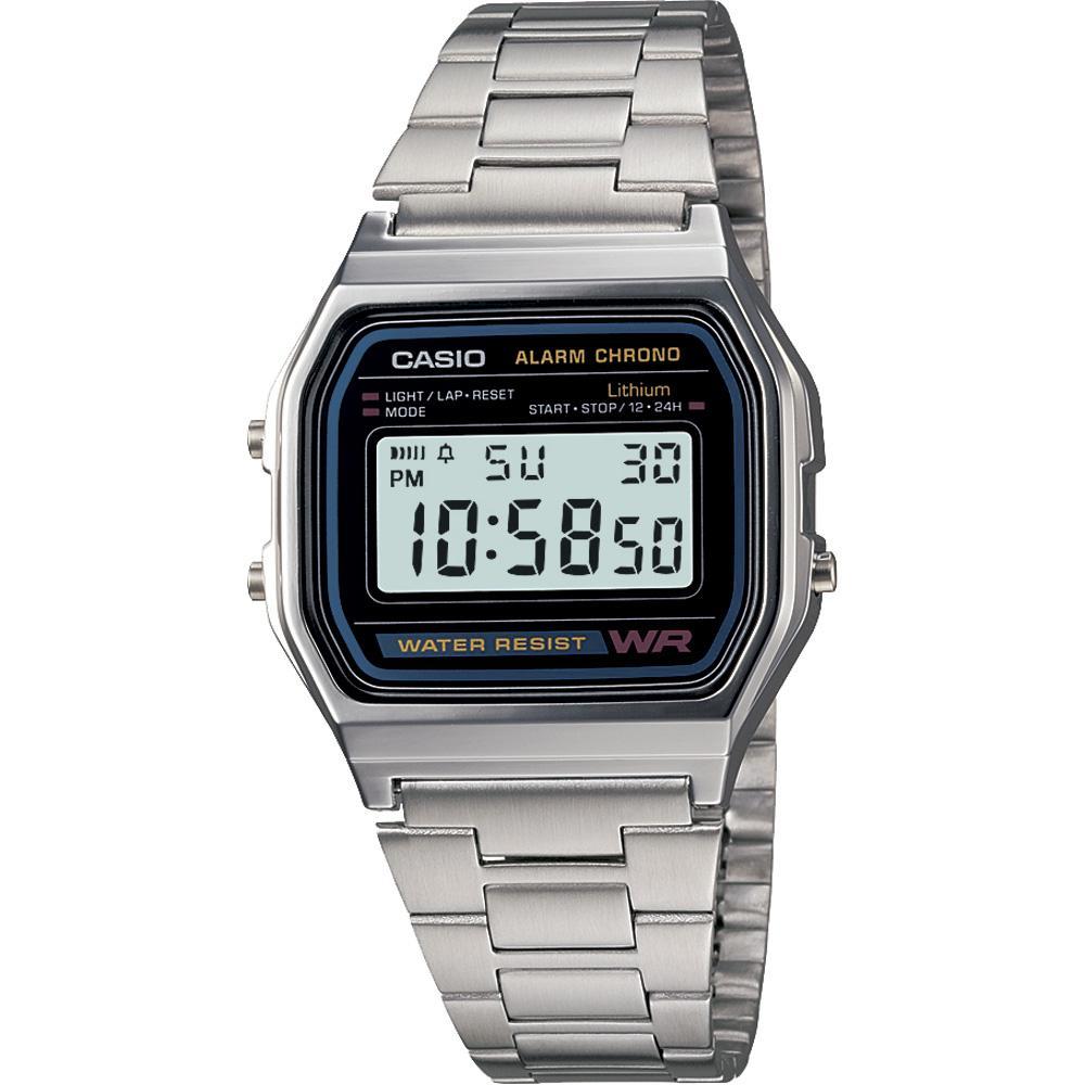 Casio A158W-1 Classic Digital Water Resistant Watch