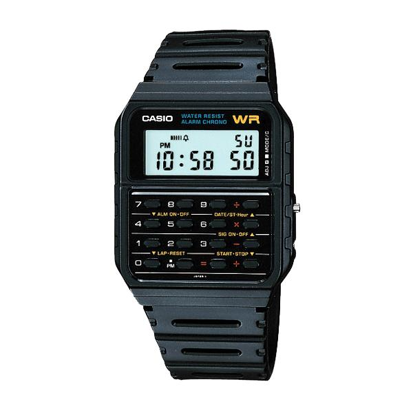 Casio CA53W-1 8-Digit Calculator Water Resistant Watch