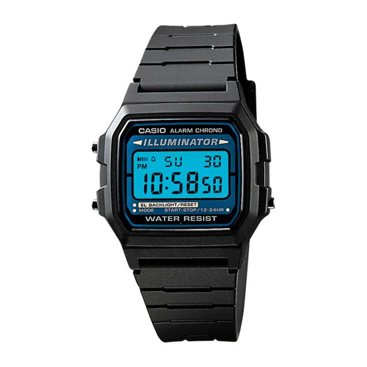 Casio F105W-1A Classic Digital Watch with Illuminator