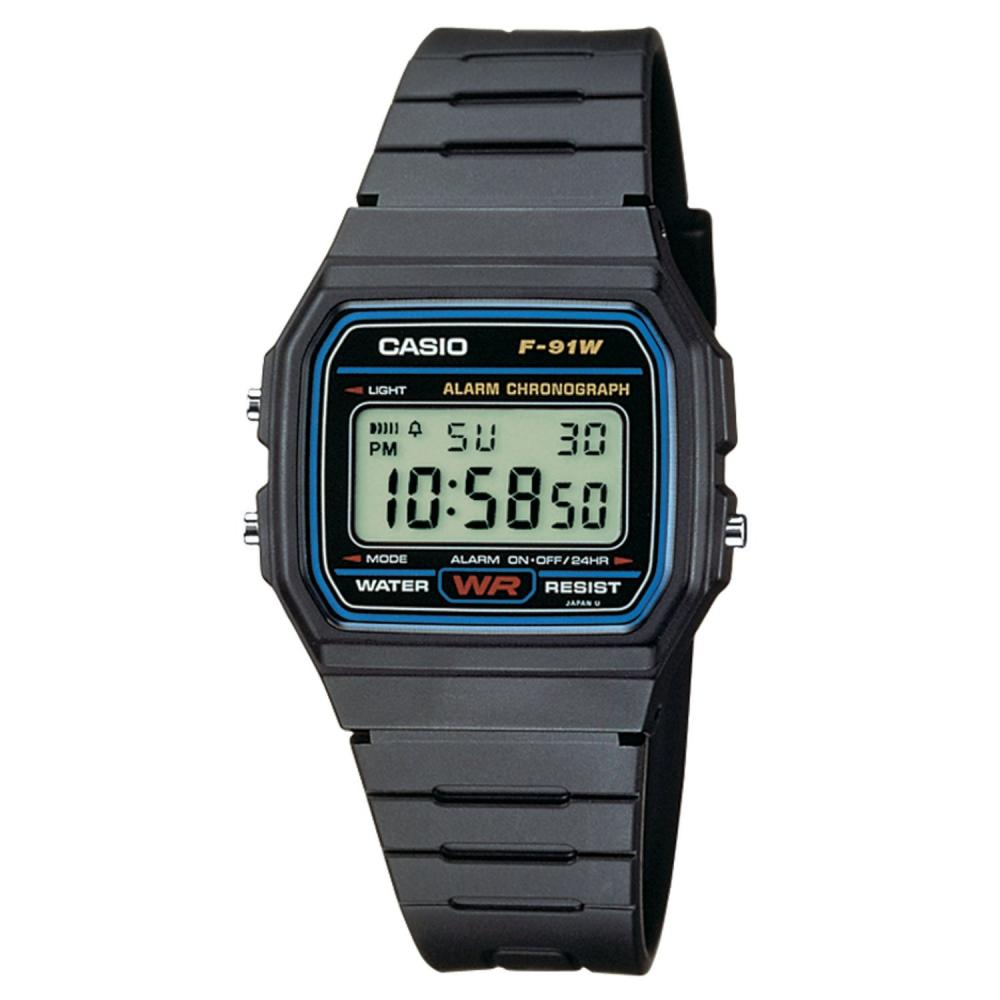 Casio F91W-1 Classic Digital Water Resistant Watch with Micro Light