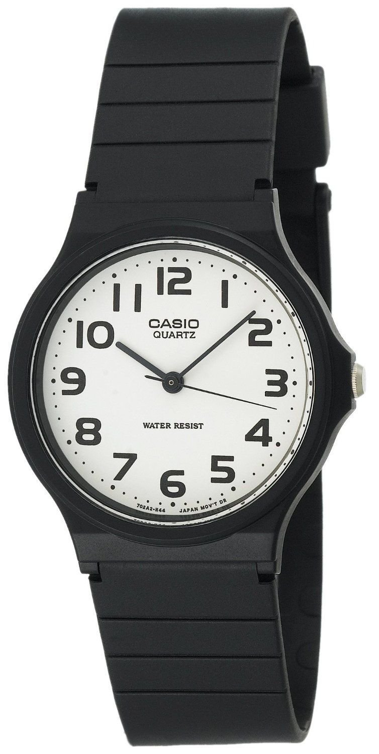Casio MQ24-7B 3-Hand Analog Water Resistant Watch