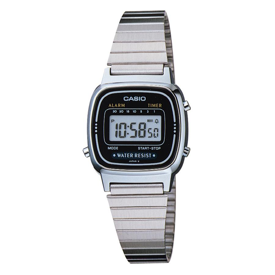 Casio Digital Water Resistant Ladies Watch with Daily Alarm