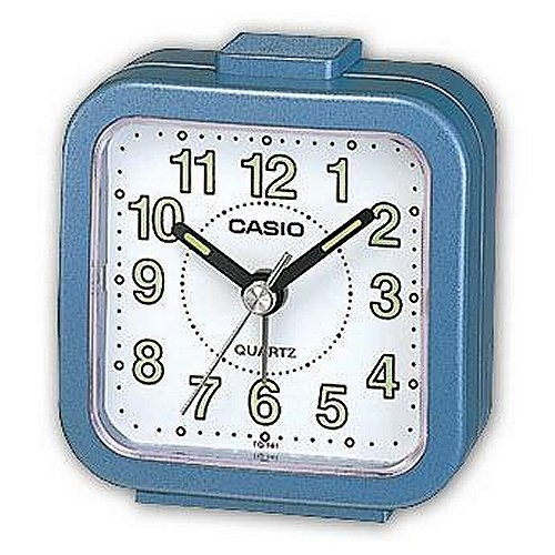 Casio TQ141 Alarm Clock - Blue