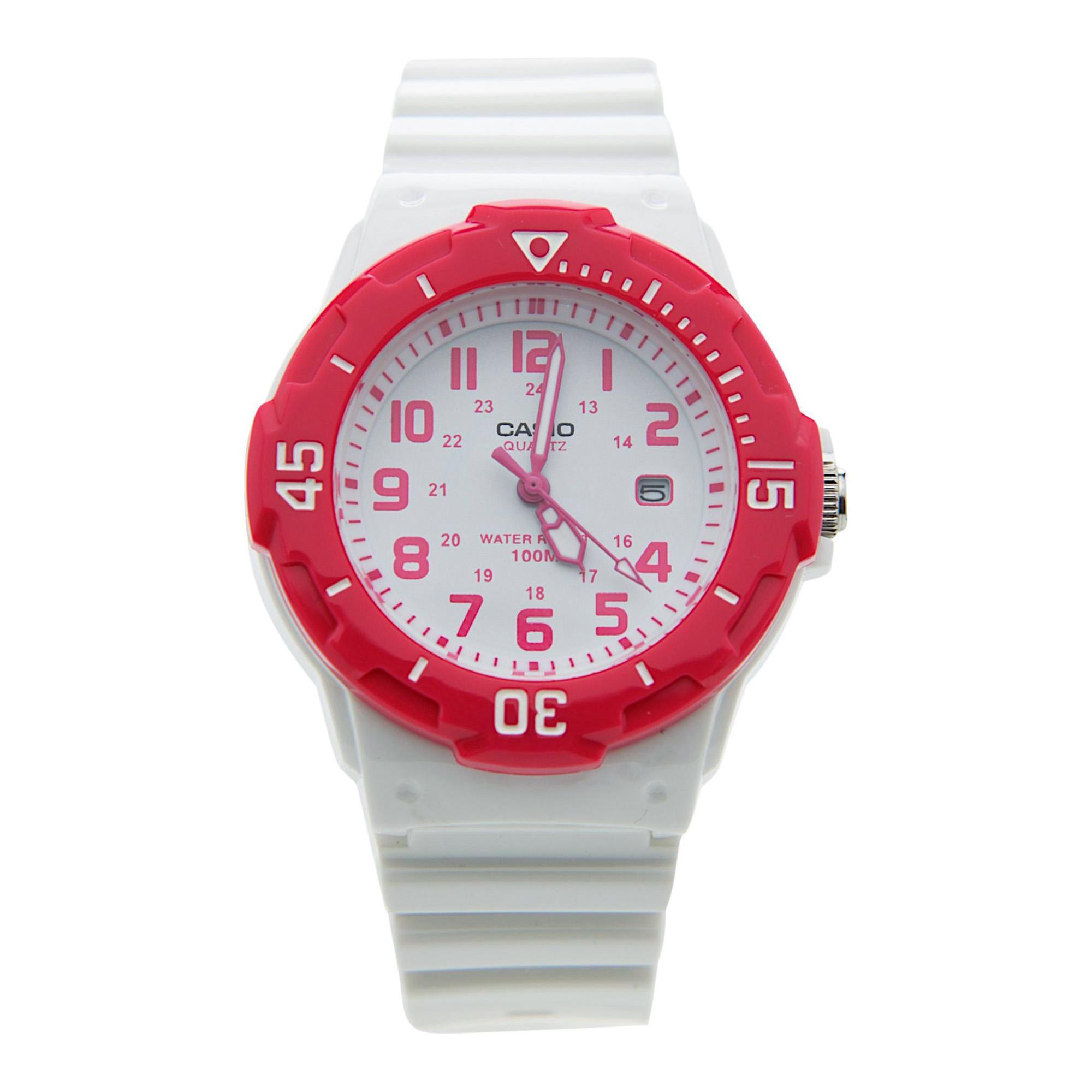 Casio Classic 3-Hand Analog 100-Meter Water Resistant Ladies Watch