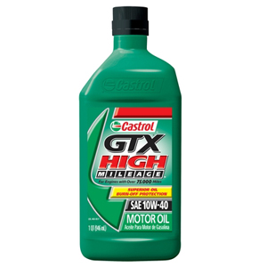 GTX HI-MILE MOTOR OIL 10W40, 6-PACK
