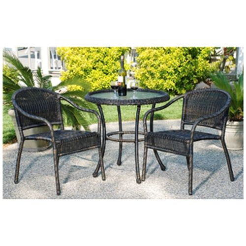 Harbor Bistro Set - Golden Black