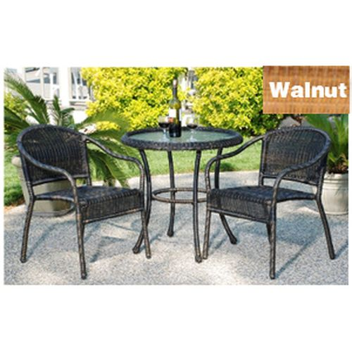 Harbor Bistro Set - Walnut