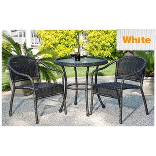 Harbor Bistro Set - White
