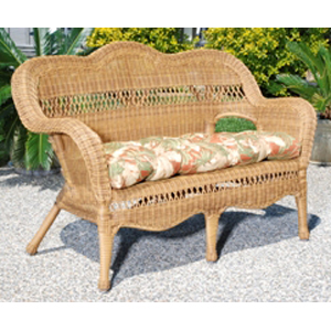 Sahara Love Seat - Walnut
